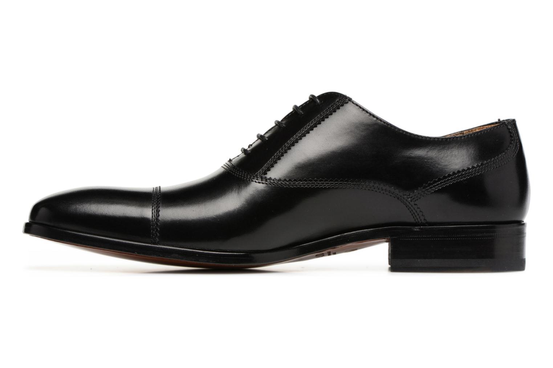 Chaussures à lacets Heyraud ELOPHE Noir vue face