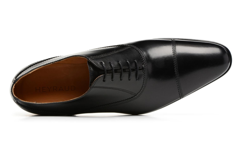 Chaussures à lacets Heyraud ELOPHE Noir vue gauche