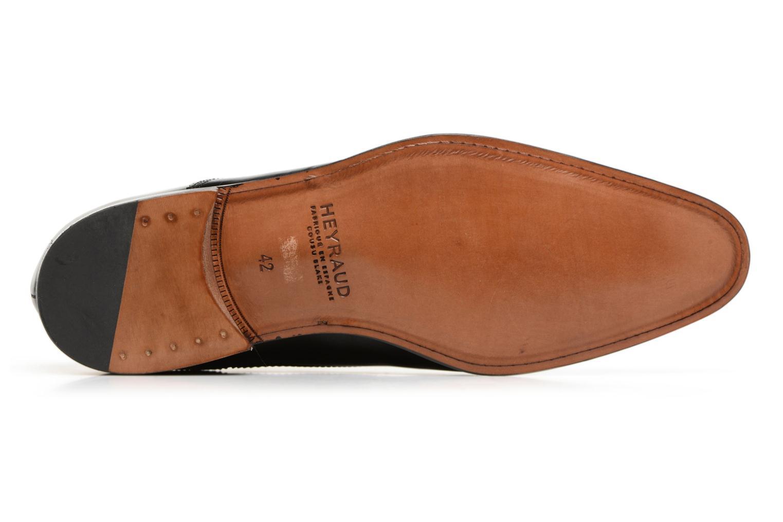 Chaussures à lacets Heyraud ELOPHE Noir vue haut