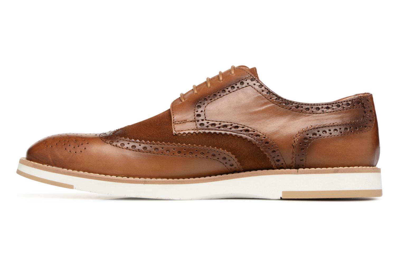 Chaussures à lacets Heyraud ETIENNE Marron vue face