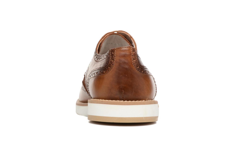 Chaussures à lacets Heyraud ETIENNE Marron vue droite