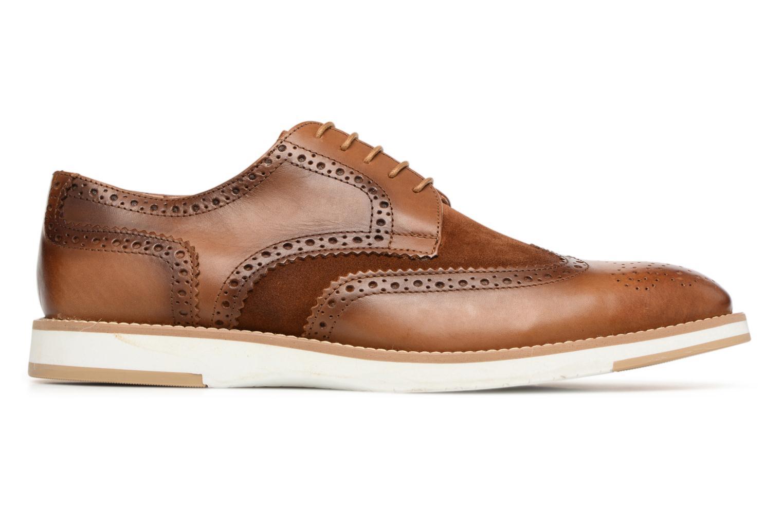 Chaussures à lacets Heyraud ETIENNE Marron vue derrière