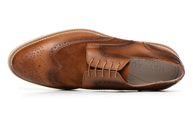 Chaussures à lacets Heyraud ETIENNE Marron vue gauche