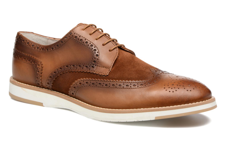 Chaussures à lacets Heyraud ETIENNE Marron vue détail/paire