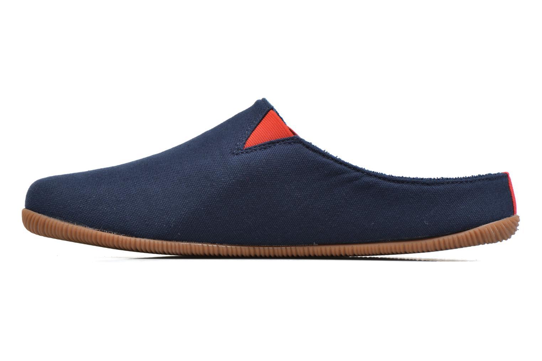 Pantoffels Giesswein Perkam Blauw voorkant