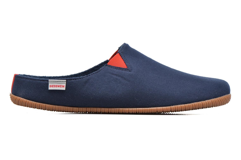 Pantoffels Giesswein Perkam Blauw achterkant