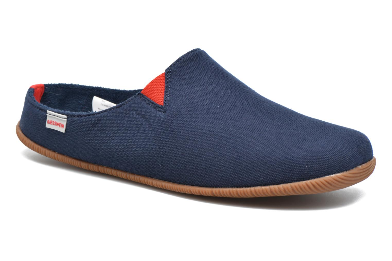 Pantoffels Giesswein Perkam Blauw detail