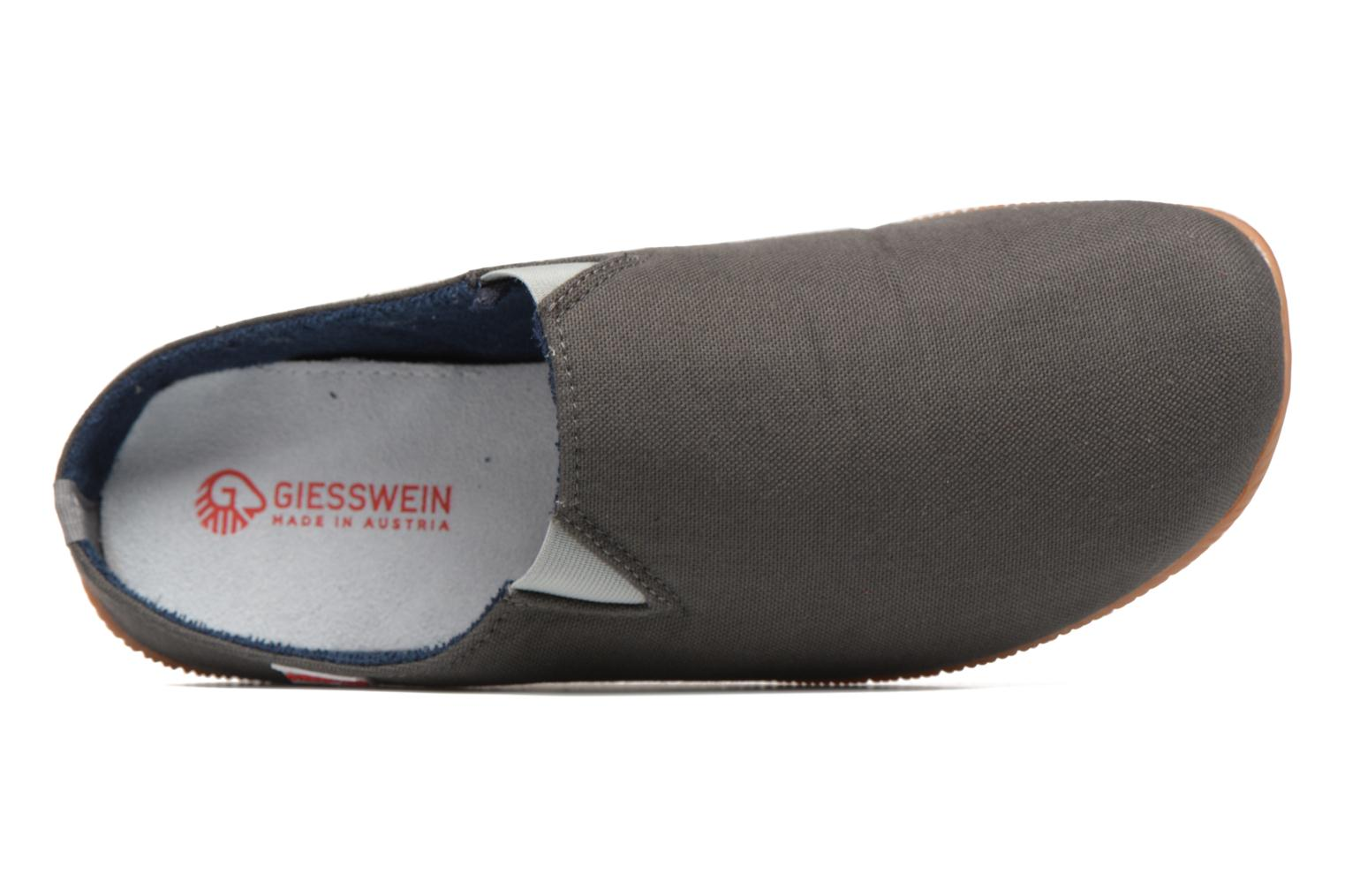 Slippers Giesswein Perkam Grey view from the left