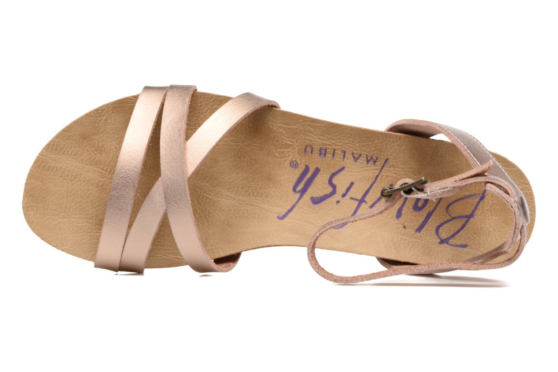 Sandales et nu-pieds Blowfish Galie Rose vue gauche