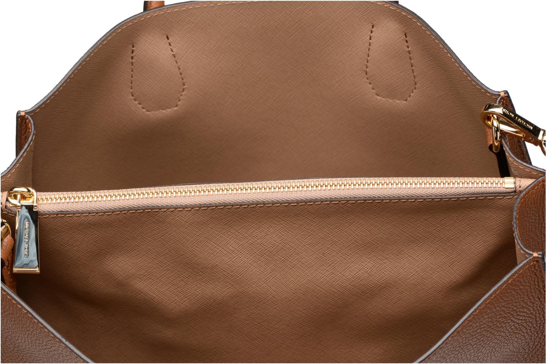 Handbags Michael Michael Kors MERCER LG SATCHEL Brown back view