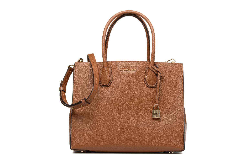 Handbags Michael Michael Kors MERCER LG SATCHEL Brown detailed view/ Pair view