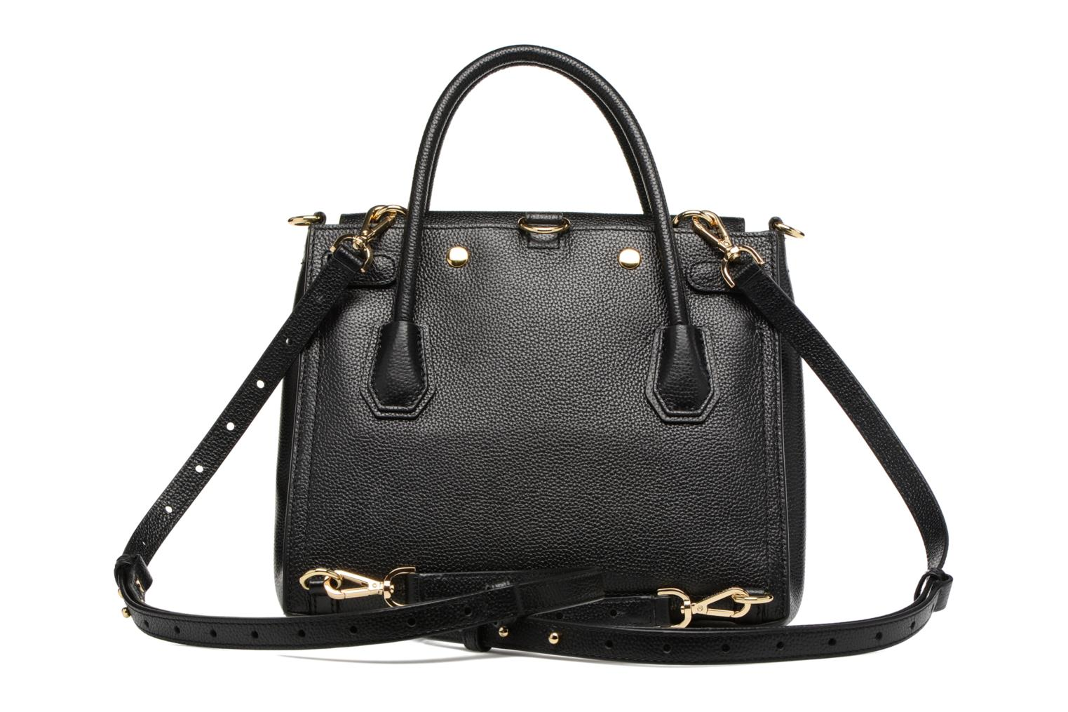 Sacs à main Michael Michael Kors MERCER LG ALL IN ONE BAG Noir vue face