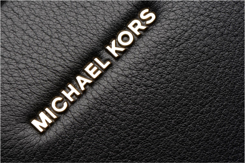 Sacs à main Michael Michael Kors GINNY MD MESSENGER Noir vue gauche