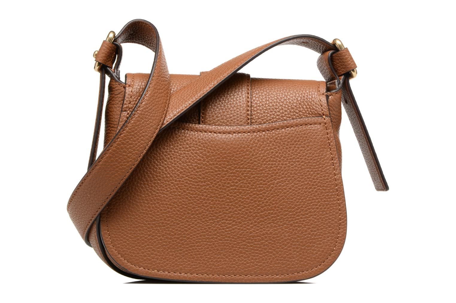 Bolsos de mano Michael Michael Kors MAXINE MD SADDLE BAG Marrón vista de frente