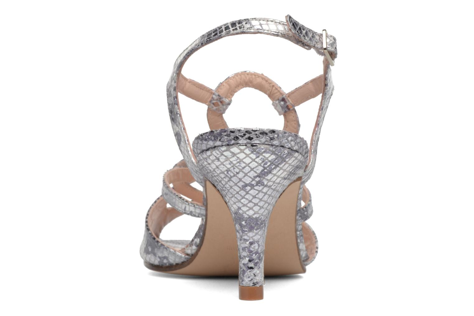 Sandals Anna Volodia Cassandra Silver view from the right