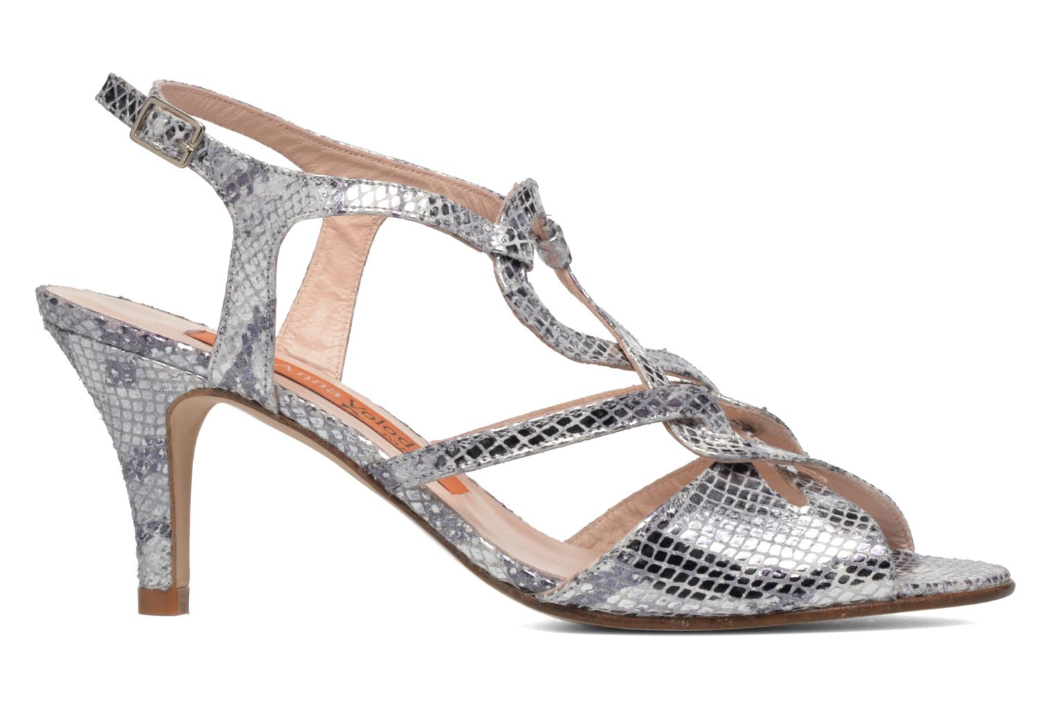 Sandals Anna Volodia Cassandra Silver back view