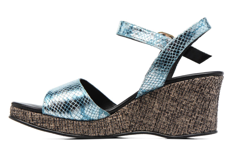 Sandales et nu-pieds Anna Volodia Lola Bleu vue face