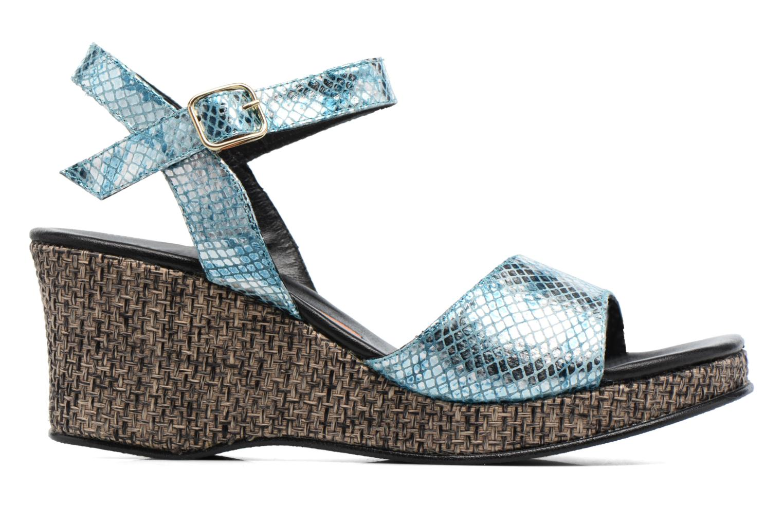 Sandales et nu-pieds Anna Volodia Lola Bleu vue derrière