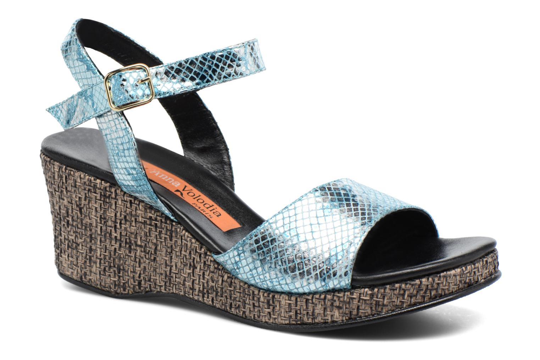 Zapatos de hombre y mujer de promoción por tiempo limitado Anna Volodia Lola (Azul) - Sandalias en Más cómodo