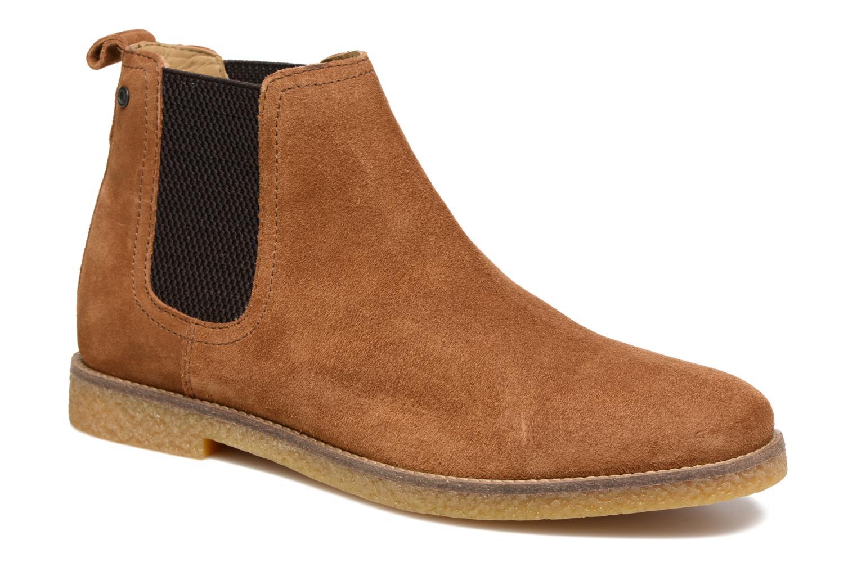 Base London Ferdinand (Marron) - Bottines et boots chez Sarenza (285132)