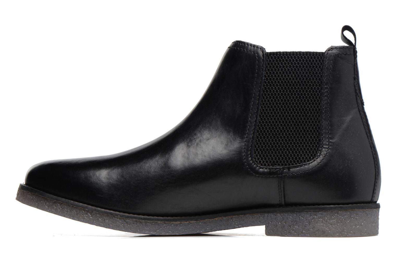Bottines et boots Base London Ferdinand Noir vue face