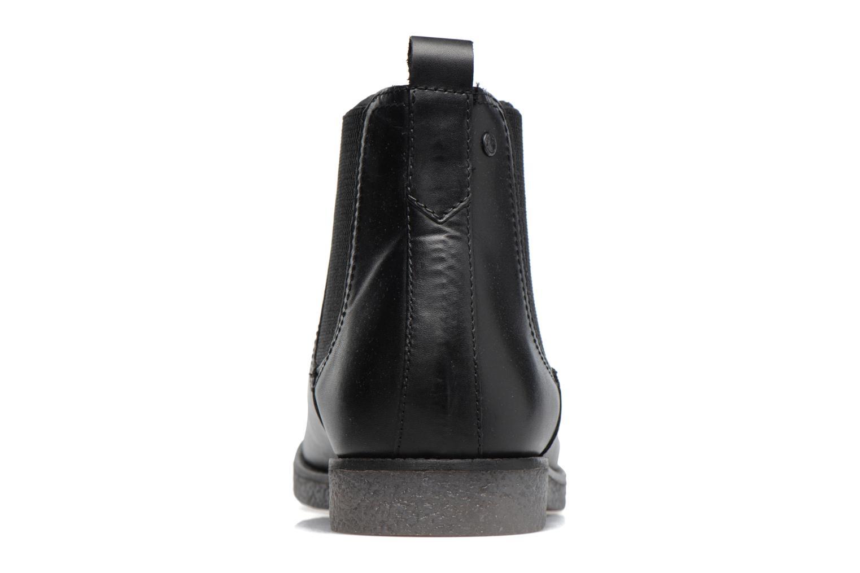 Bottines et boots Base London Ferdinand Noir vue droite