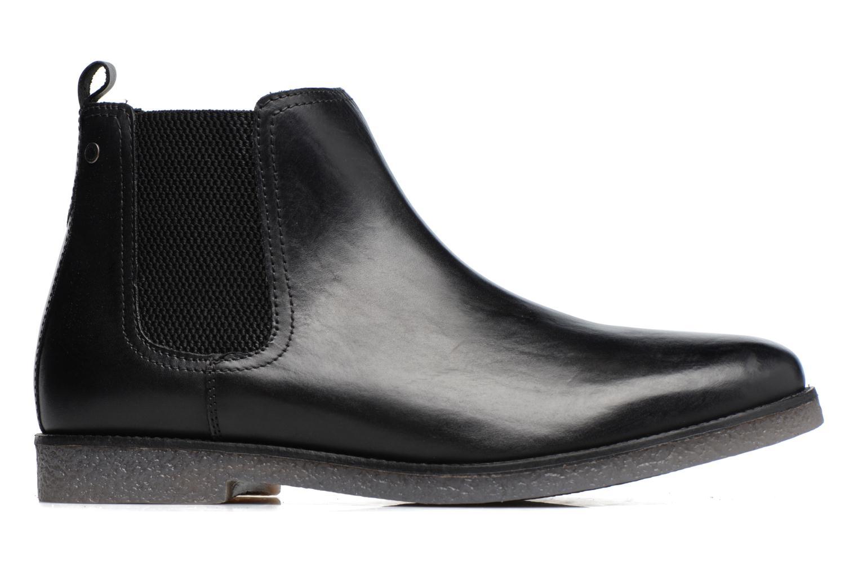 Bottines et boots Base London Ferdinand Noir vue derrière