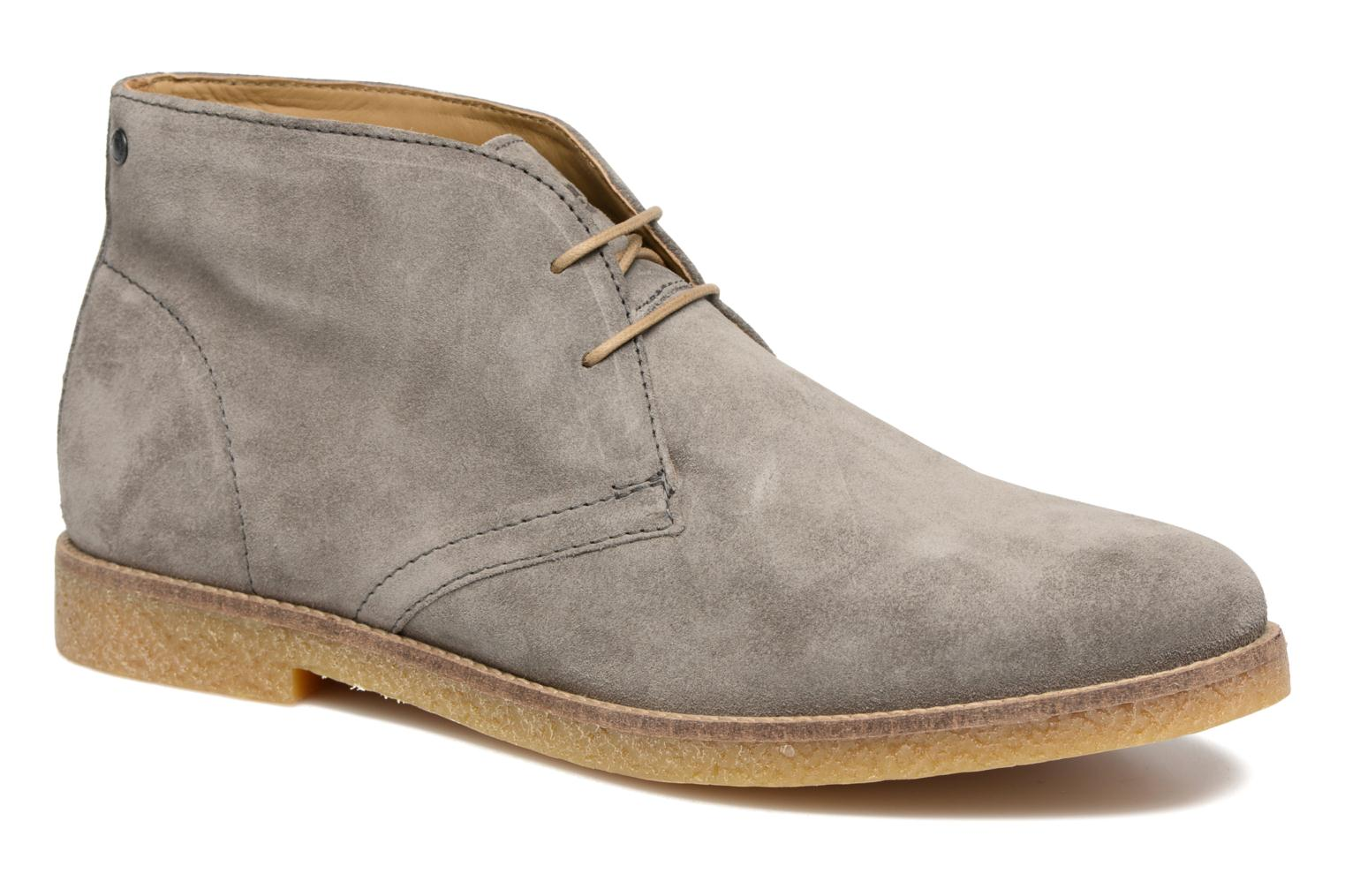 Charlton Grey suede