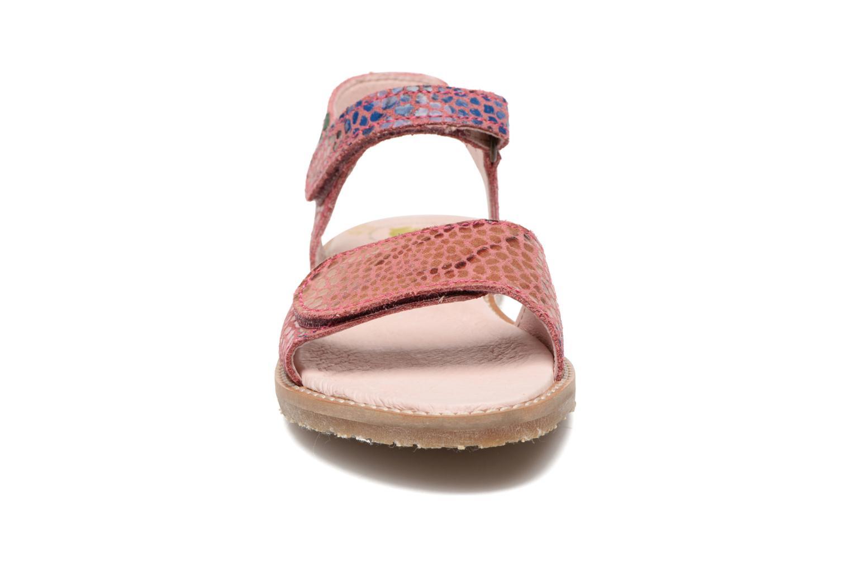 Sandales et nu-pieds El Naturalista Africa E510 Rose vue portées chaussures
