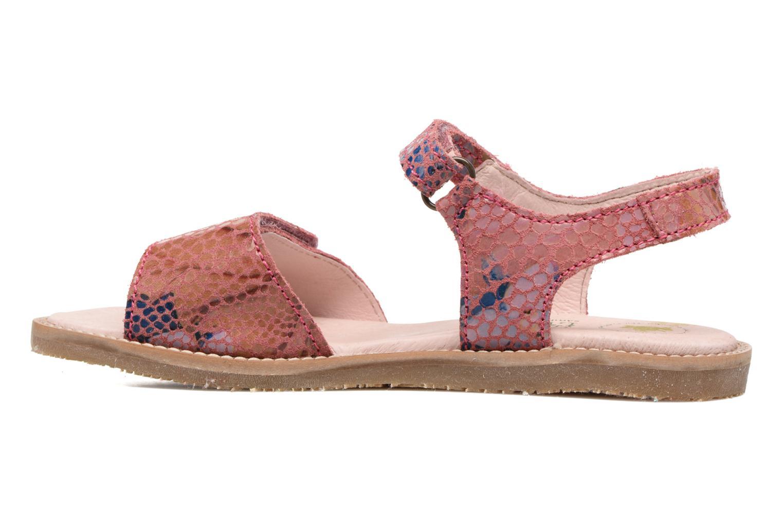Sandales et nu-pieds El Naturalista Africa E510 Rose vue face