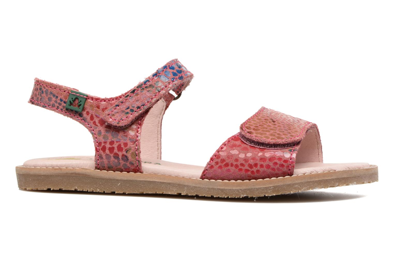 Sandales et nu-pieds El Naturalista Africa E510 Rose vue derrière