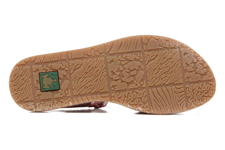 Sandales et nu-pieds El Naturalista Africa E510 Rose vue haut