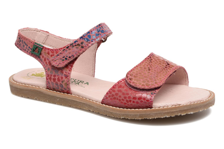Sandales et nu-pieds El Naturalista Africa E510 Rose vue détail/paire