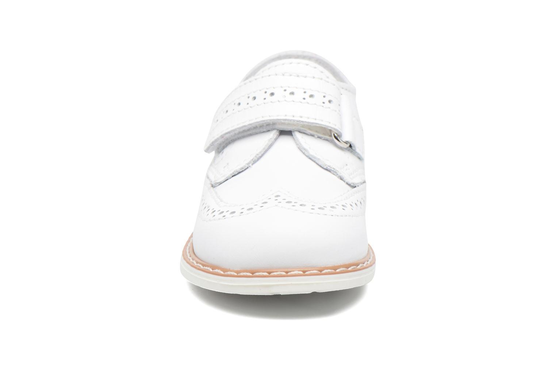 Chaussures à scratch Melania Diego Blanc vue portées chaussures