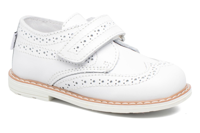 Chaussures à scratch Melania Diego Blanc vue détail/paire