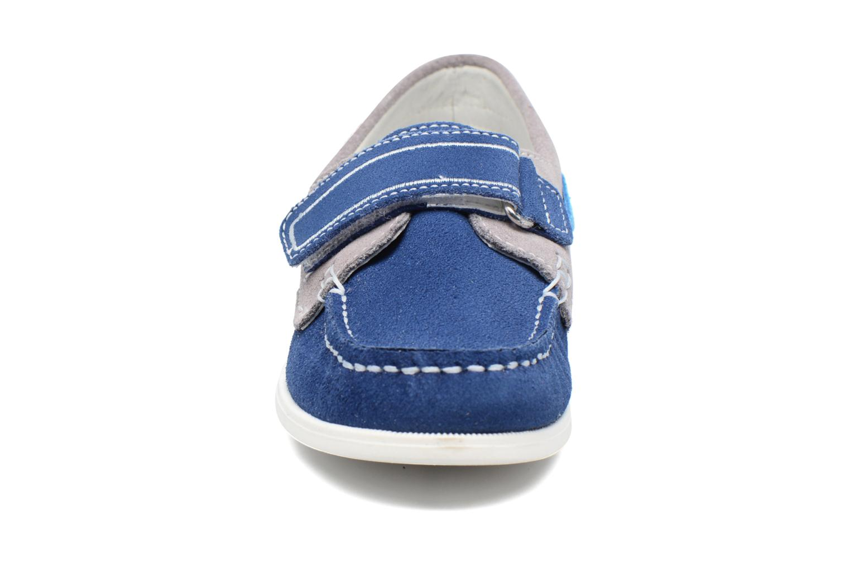 Chaussures à scratch Melania Folco Bleu vue portées chaussures
