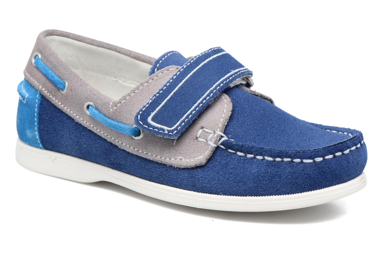 Chaussures à scratch Melania Folco Bleu vue détail/paire