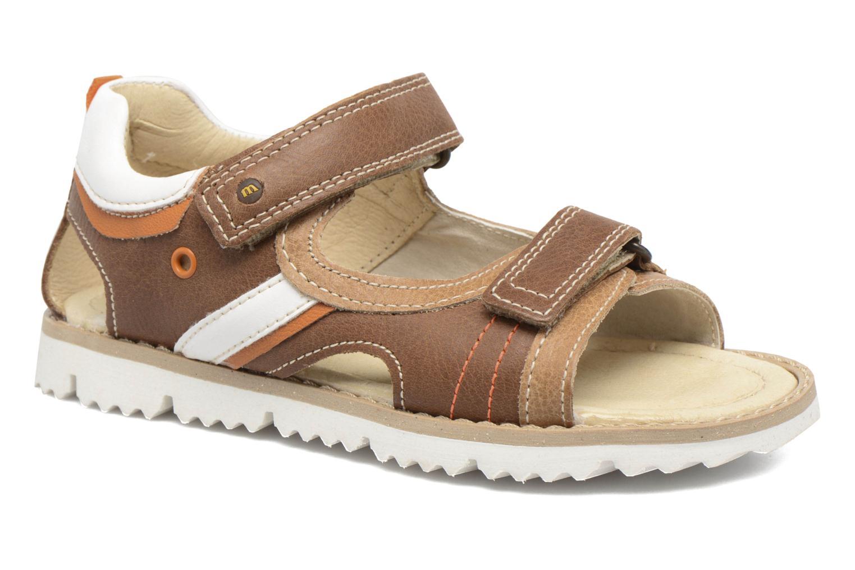 Sandales et nu-pieds Melania Mario Marron vue détail/paire