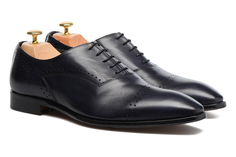 Chaussures à lacets Marvin&Co Luxe Dartford - Cousu Blake Bleu vue 3/4