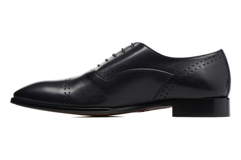 Snörade skor Marvin&Co Luxe Dartford Blå bild från framsidan