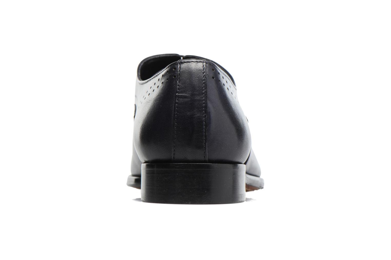 Snörade skor Marvin&Co Luxe Dartford Blå Bild från höger sidan