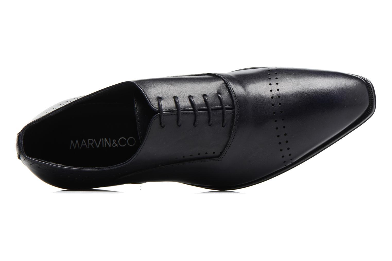Snörade skor Marvin&Co Luxe Dartford Blå bild från vänster sidan