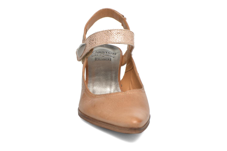 Høje hæle Karston Kzoupi Beige se skoene på