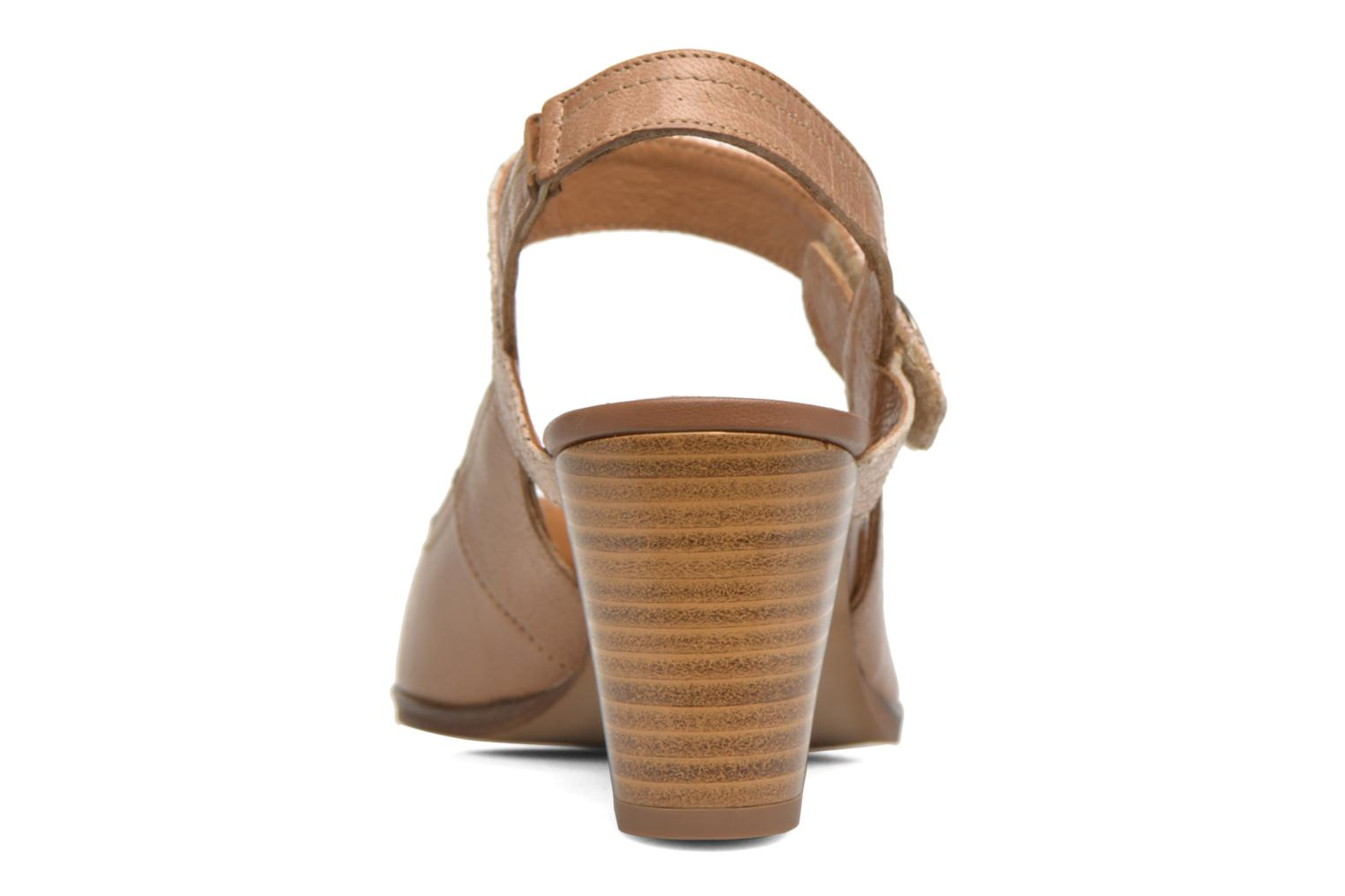 High heels Karston Kzoupi Beige view from the right