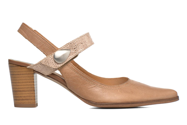 High heels Karston Kzoupi Beige back view