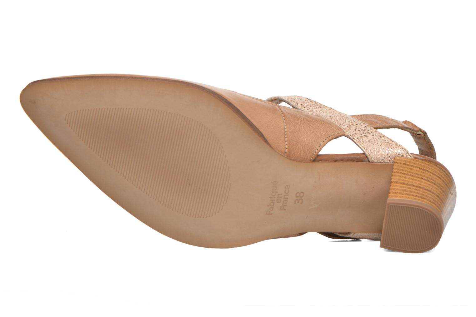 High heels Karston Kzoupi Beige view from above