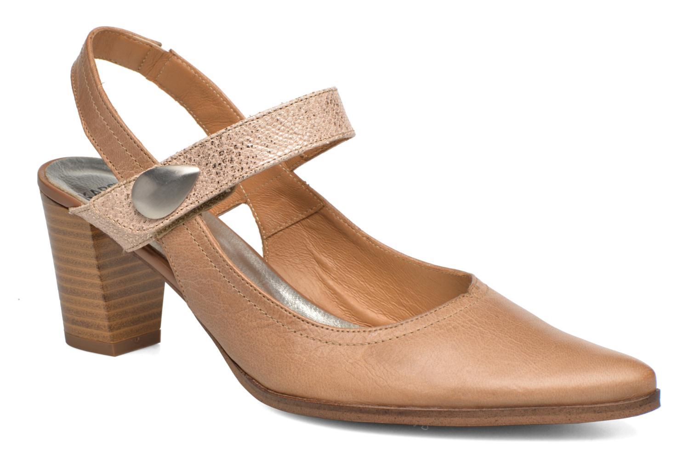 Høje hæle Karston Kzoupi Beige detaljeret billede af skoene