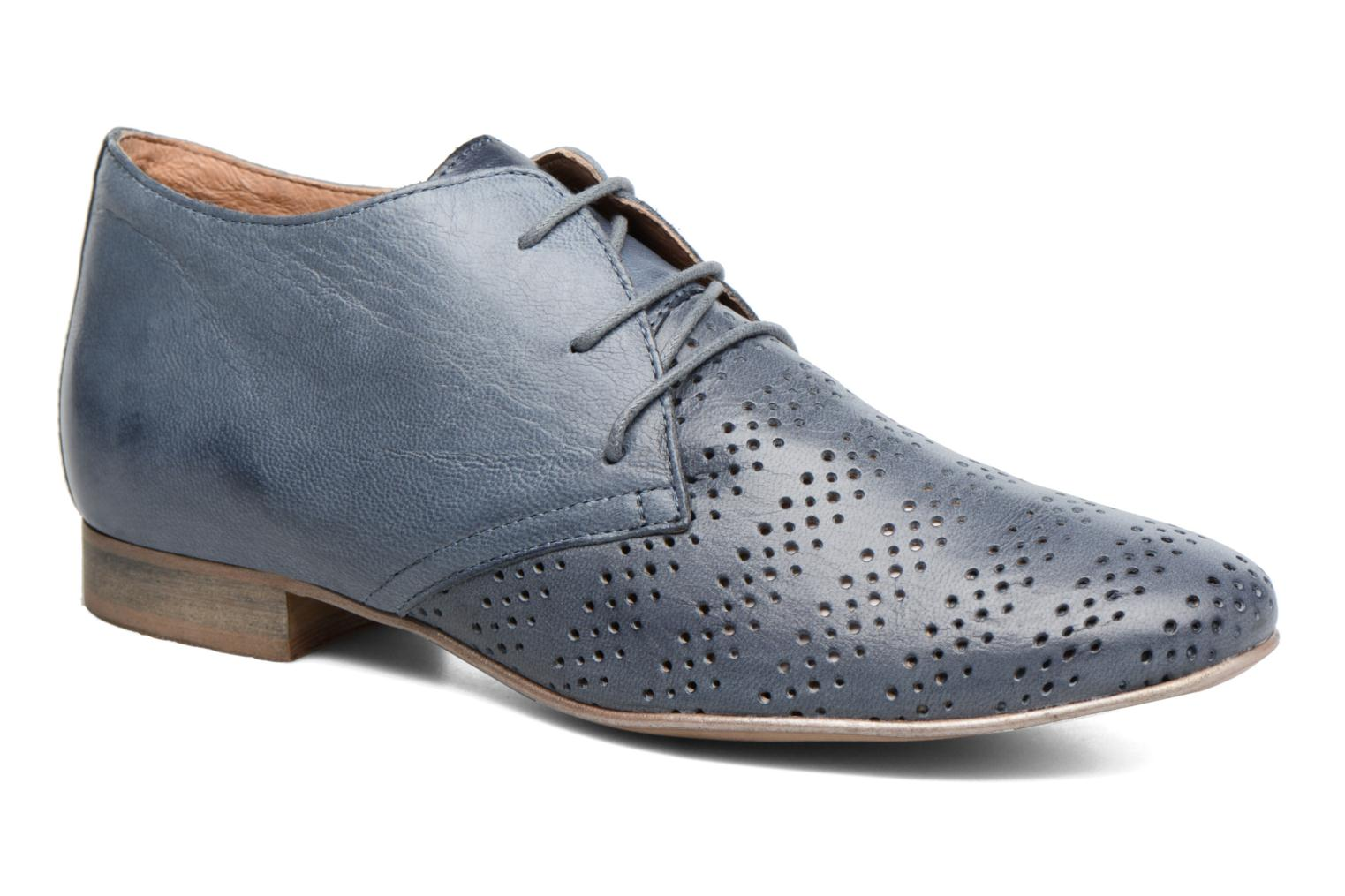 Lace-up shoes Karston Jorzi Blue detailed view/ Pair view