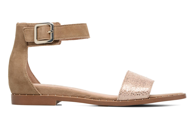 Sandales et nu-pieds Karston Sovia Beige vue derrière