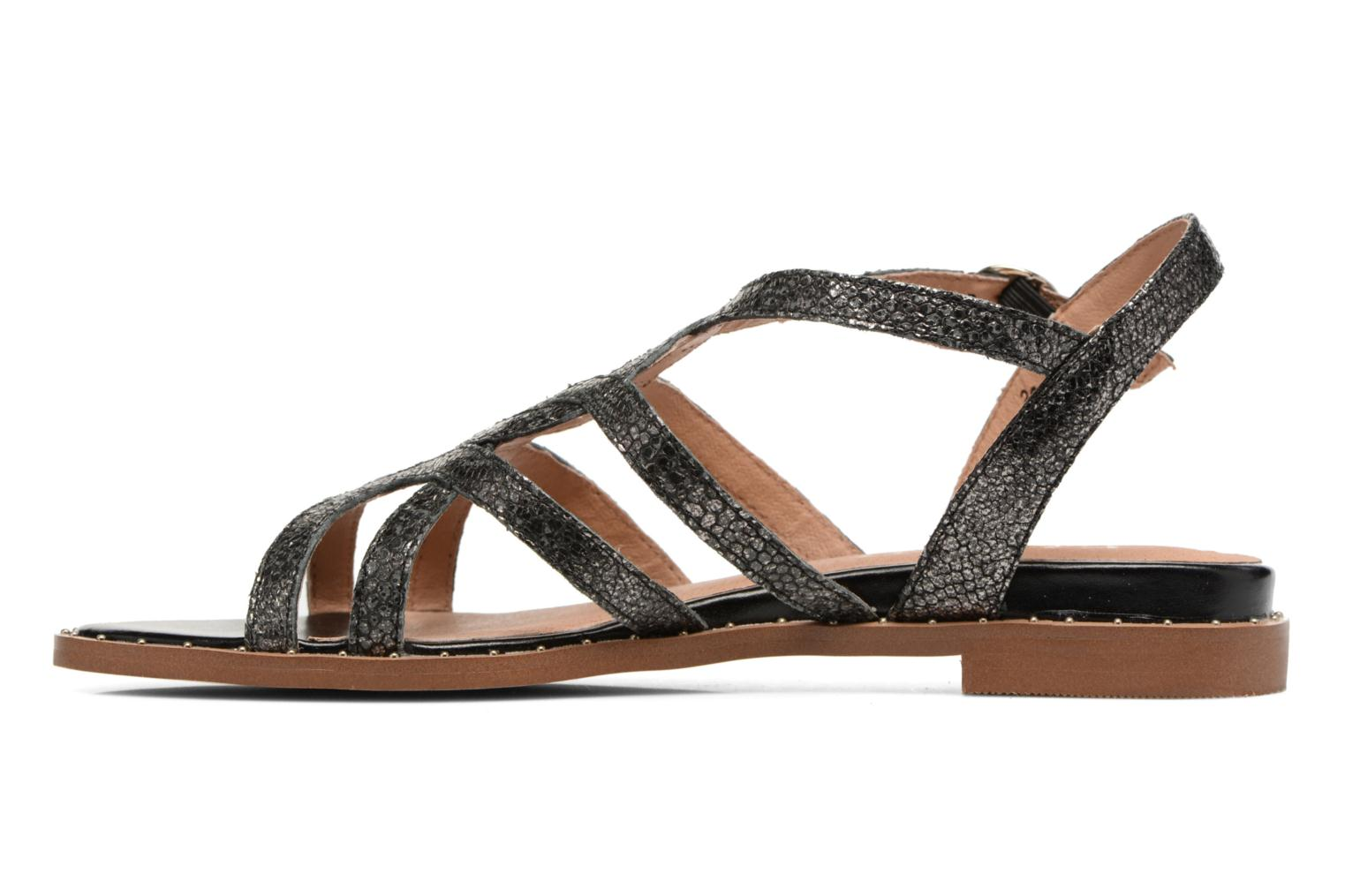 Sandals Karston Soby Black front view